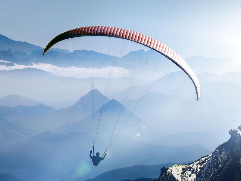 Voler en parapente